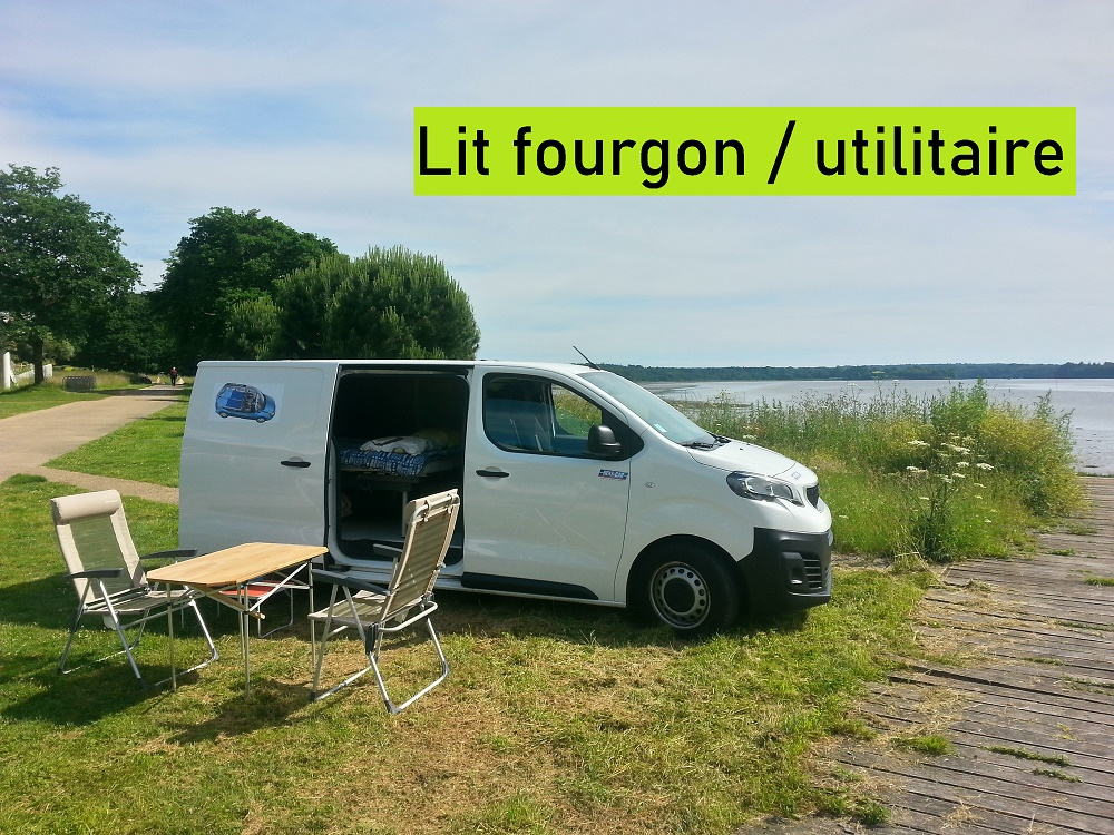 Lit fourgon – utilitaire professionnel