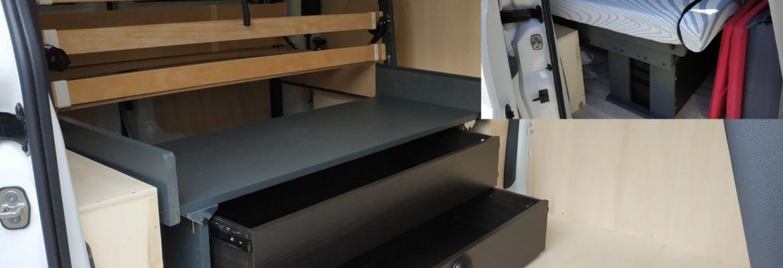 Lancement en direct du nouveau lit pliable pour fourgon !