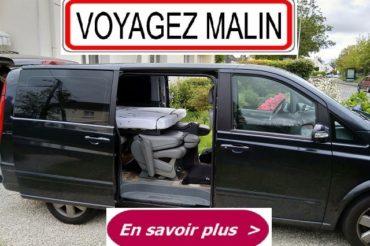 Mercedes Viano long en mode road trip