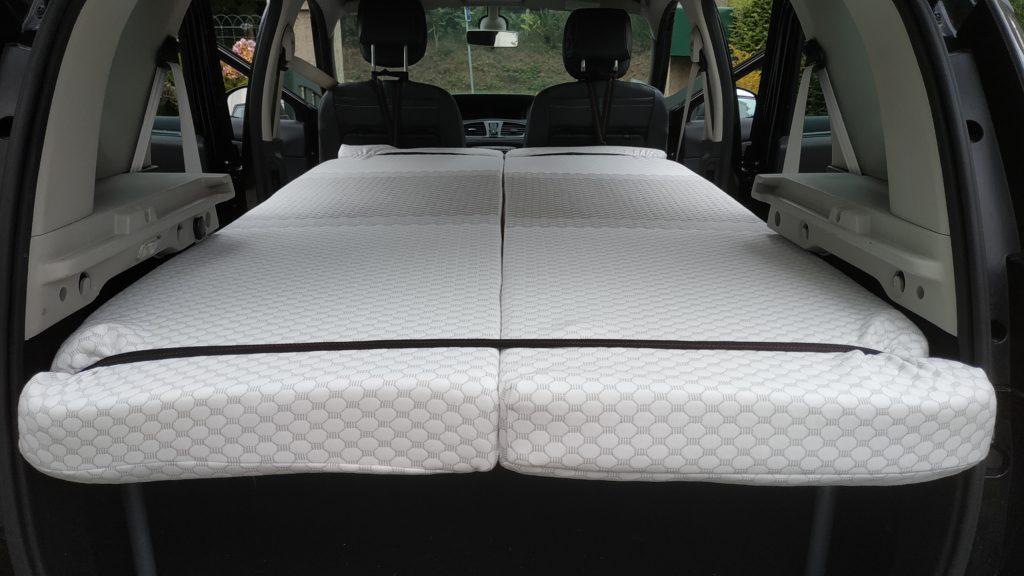 Lit confort Easy Bed Car dans Renault Scenic
