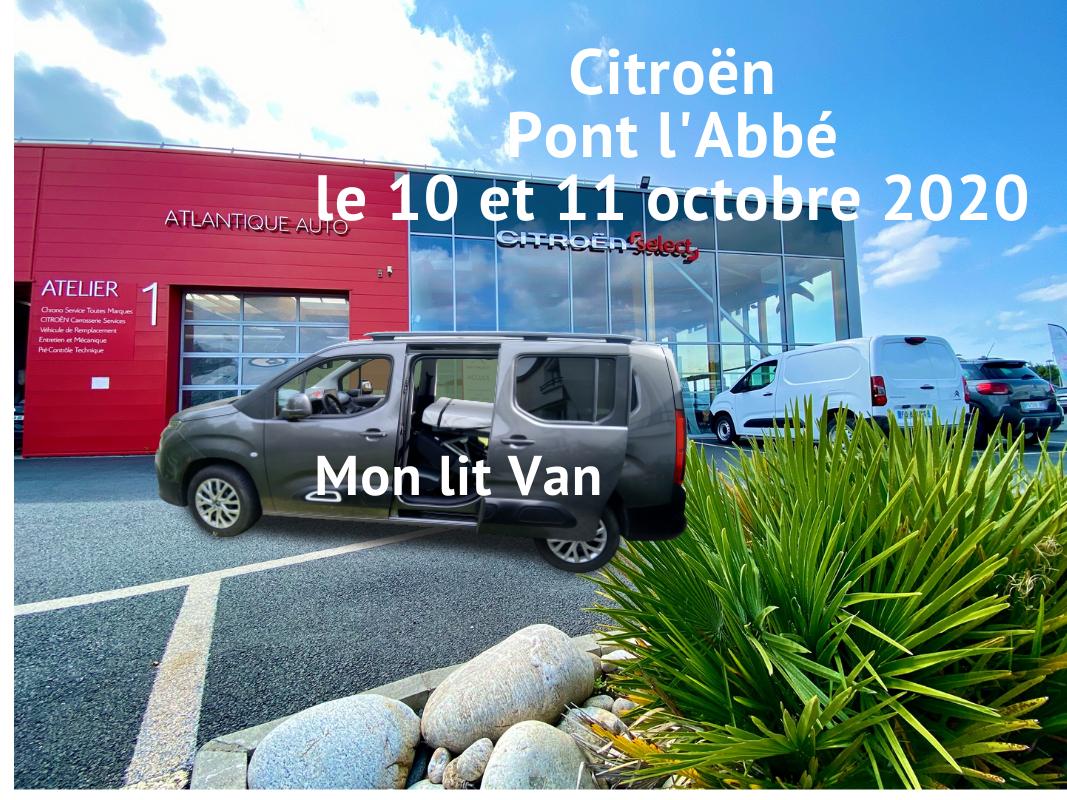 «Mon lit Van 29» chez Citroën Pont l'Abbé